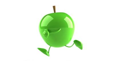 Pomme et running