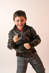 leather jacket for boy