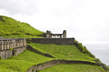 Old Fortress on Green Hill
