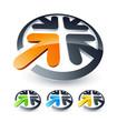 Business logo design color collection