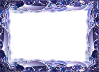 Waterdrops Frame