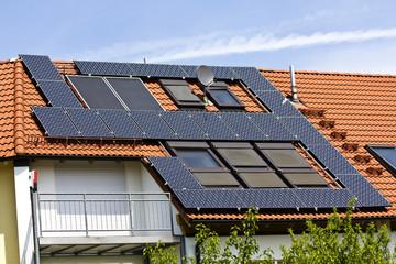 Solarenergie Dach