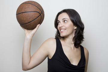 Basketball Woman