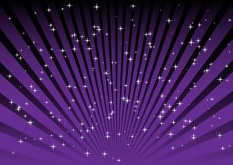 Purple blast