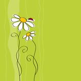 Fototapeta kwiat - mapa - Tła