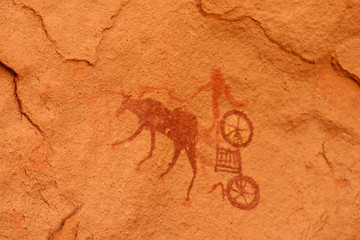 Felsenmalerei