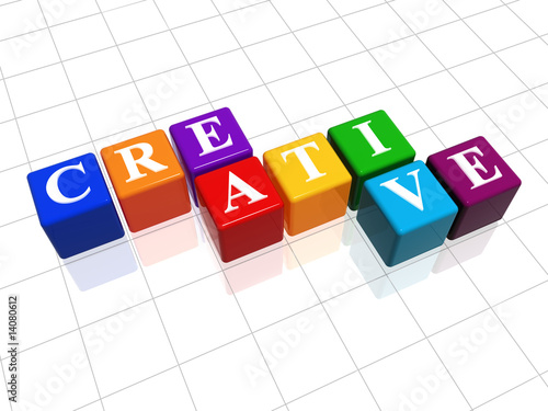 poster of creative in colour
