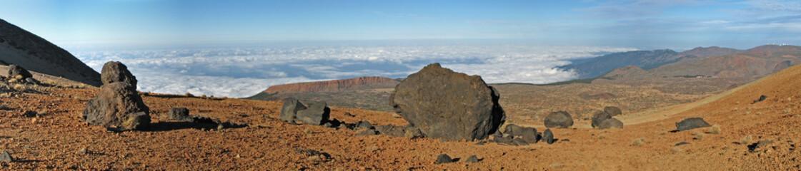 Los Huevos del Teide - Panorama