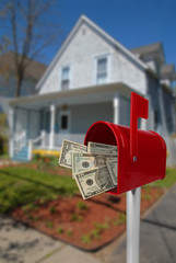 Mailbox with money