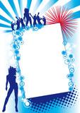 Red Blue Fest poster