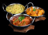 Fototapety Indian Curry Meal