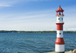 Lighthouse at Flensburg Fjord (Baltic Sea, Germany)