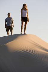 A Couple on a Sand Dune