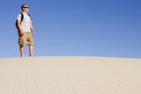 Man Hiking poster
