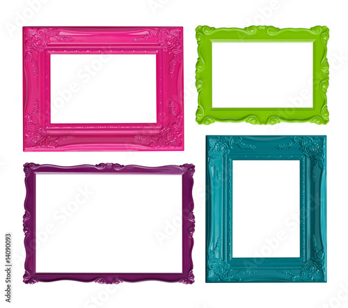 Colorful picture frames - 14090093