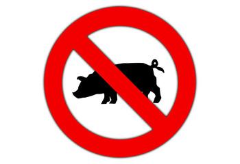 Swine flu sign