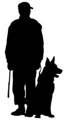 cane seduto (vettoriale)