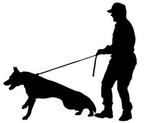 cane che attacca (vettoriale)
