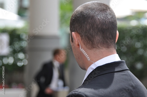 Leinwanddruck Bild bodyguards