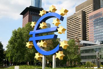 Euro in Frankfurt