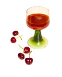 Cherries and cherry drink