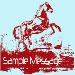 Prancing Horse Background