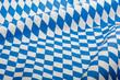 bayrisches Rautenmuster als Hintergrund