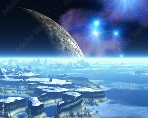Alien Ice Planet