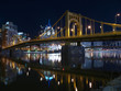 Pittsburgh Bridges at Night