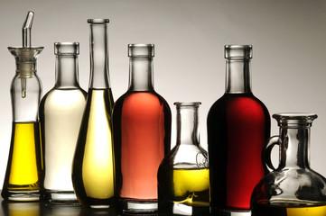 Varieta di olio e aceto