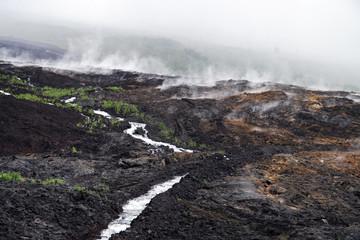 Vapeurs volcaniques
