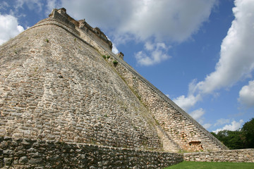 Piramide dell'indovino - Uxmal - Messico