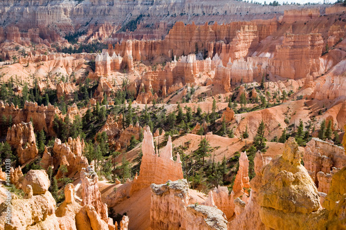 Bryce Canyon, wunderbare Felsenformationen im Licht