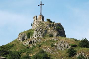 Croce in cima alla montagna -  Italy