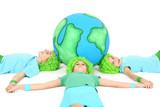 Ensemble sauvons notre planète poster