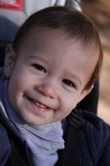 Smiling todler boy