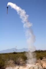 Downward Rocket