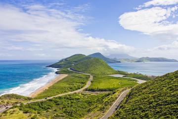 Green Hills Between Sea and Ocean