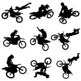 motor cross freestyle set