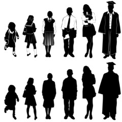 students vector