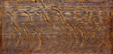genuinely antique wood box panel with fine grain detail. poster
