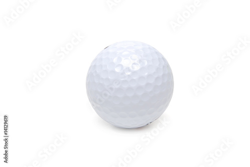 one golf ball