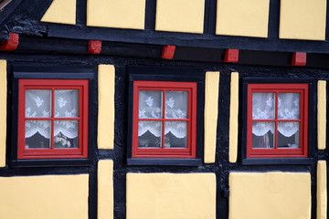 Rote Fenster