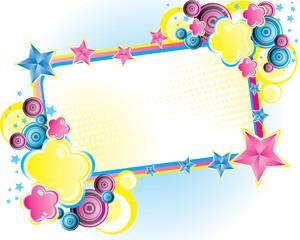 floral vector banner