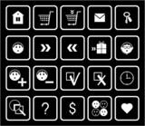 E-Commerce Icon Set poster