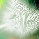 electronic scheme poster