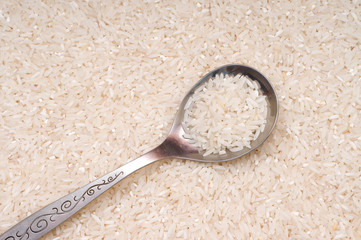Rice groats background