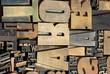 Letter wood 13