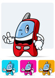 Cellular phone mascot 2 poster