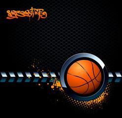 Basketball grunge background